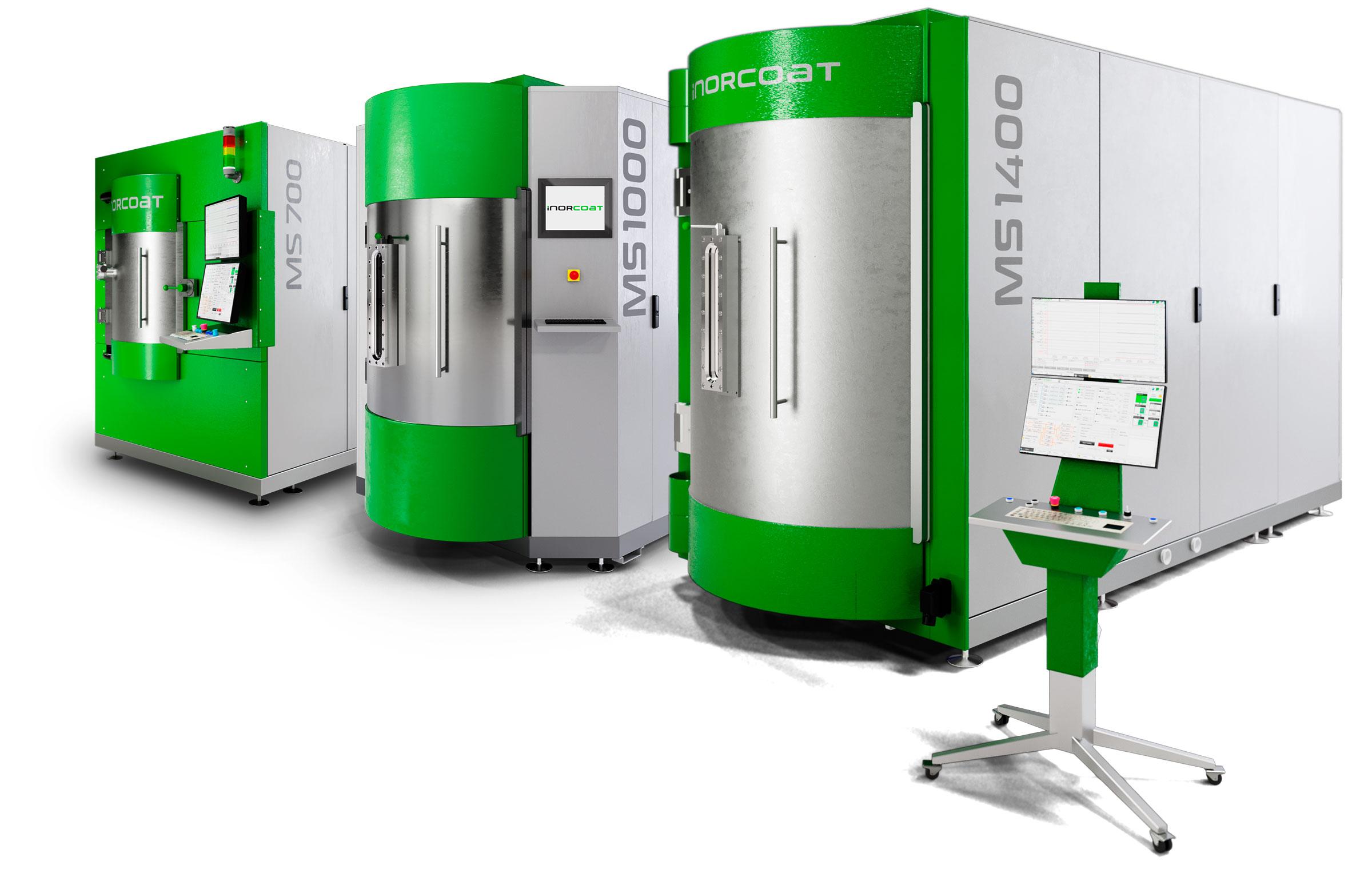 Standard Batch PVD Beschichtungssysteme von INORCOAT.